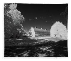Twin Barns Fleece Blanket