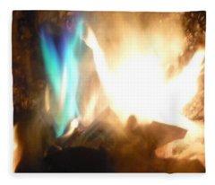 Twin Flame Fleece Blanket