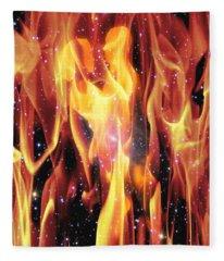 Twin Flames Fleece Blanket