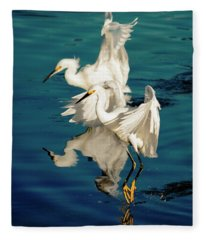 Two In Tandem Fleece Blanket