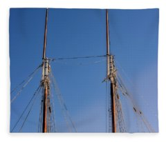 Two Masts Fleece Blanket