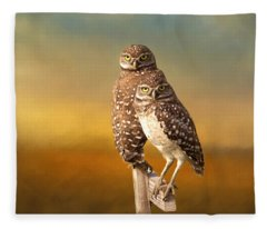 Two Of Us Fleece Blanket