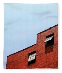 Two Open Windows- Nashville Photography By Linda Woods Fleece Blanket