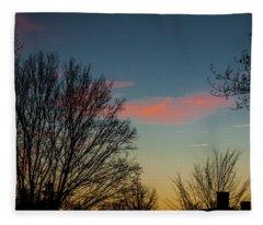 Two Planes Fleece Blanket