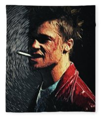 Tyler Durden Fleece Blanket