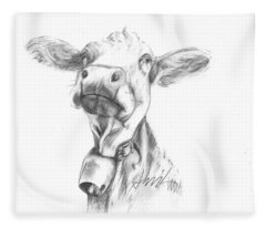 Udderly Fine  Fleece Blanket