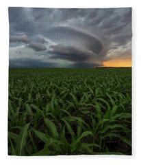 UFO Fleece Blanket