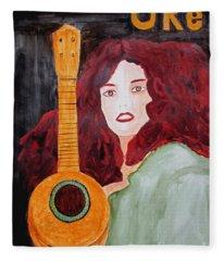 Uke Fleece Blanket
