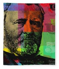 Ulysses S. Grant - $50 Bill Fleece Blanket