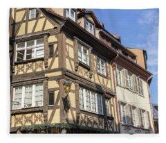 un Noel en Alsace Fleece Blanket