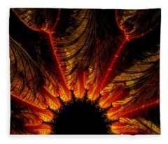 Unbridgeable Chasm-x Fleece Blanket