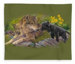 Unconditional Love Fleece Blanket