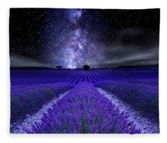 Under The Stars Fleece Blanket