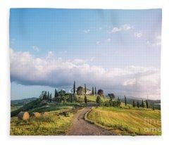 Under The Tuscan Sun Fleece Blanket