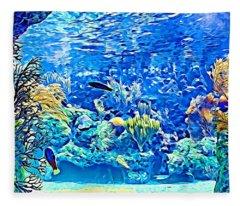 Under Water Fleece Blanket