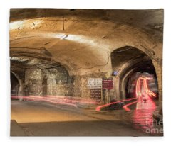 Underground Tunnels In Guanajuato, Mexico Fleece Blanket