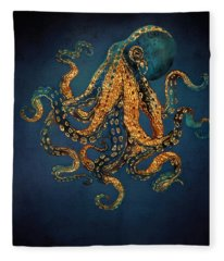 Underwater Dream Iv Fleece Blanket
