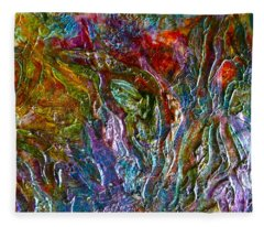 Underwater Seascape Fleece Blanket