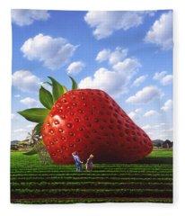 Berry Fleece Blankets