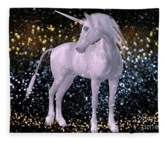 Unicorn Dust Fleece Blanket