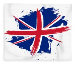Union Jack - Flag Of The United Kingdom Fleece Blanket
