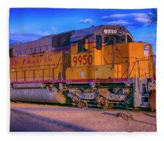 Union Pacific 9950 Fleece Blanket