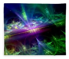 Universal Rhythms Fleece Blanket