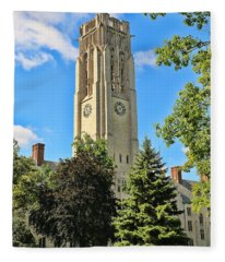University Hall University Of Toledo  6192 Fleece Blanket