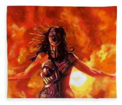 Unleashed Fleece Blanket