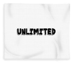Unlimted Fleece Blanket