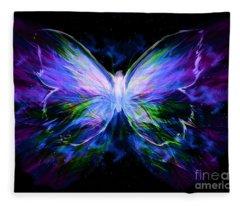 Unspoken Beauty  Fleece Blanket
