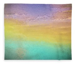 Untitled Abstract Fleece Blanket