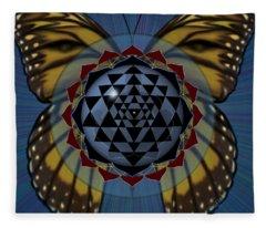 Transforming Meditation Fleece Blanket