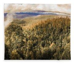 Untouched Wild Wilderness Fleece Blanket