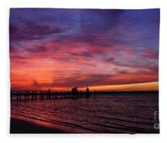 Unwind Fleece Blanket