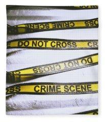 Unwrapping A Murder Investigation Fleece Blanket