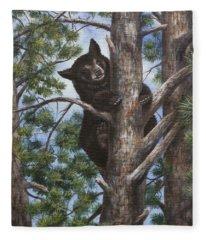 Up A Tree Fleece Blanket