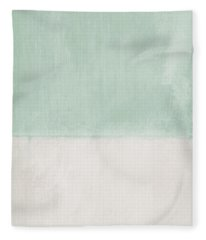 Upon Our Sighs 2- Abstract Art Fleece Blanket