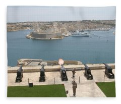 Upper Barrakka Saluting Battery Fleece Blanket