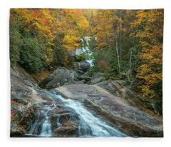 Upper Creek Autumn Paradise Fleece Blanket