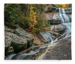 Upper Creek Falls Fleece Blanket