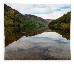 Upper Lake Glendalough Fleece Blanket