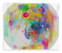 Uranus II  Fleece Blanket