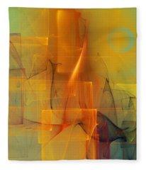 Urban  Abstract 062411 Fleece Blanket