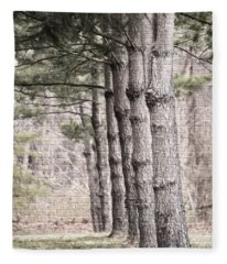 Urban Forestry Fleece Blanket