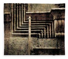 Urban Geometries Fleece Blanket