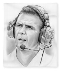 Urban Meyer Fleece Blanket