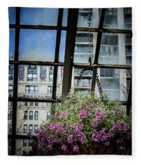 Urban Nature Fleece Blanket