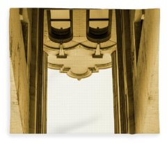 Urban Portals - Architectural Abstracts Fleece Blanket