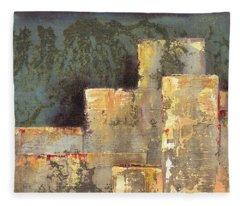 Urban Renewal II Fleece Blanket